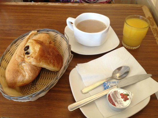 Perfect Hotel & Hostel: whole breakfast