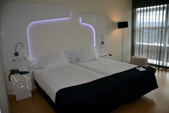 Ayre Hotel Oviedo: unser Zimmer