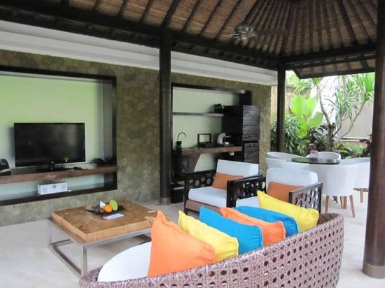 Villacoffee Mini Bar Area And Tv Tv In Rooms Too Picture Of Amarterra Villas Bali Nusa Dua Mgallery Tripadvisor