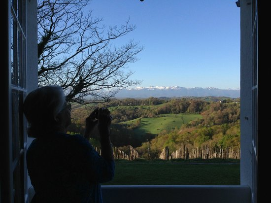 Clos Mirabel Manor : View from the Blue Room