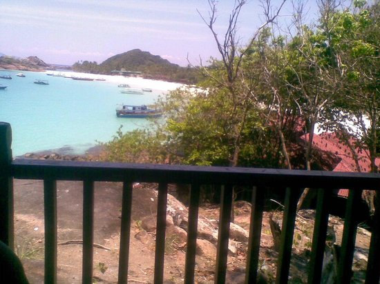 Redang Holiday Beach Villa: Clifftop view
