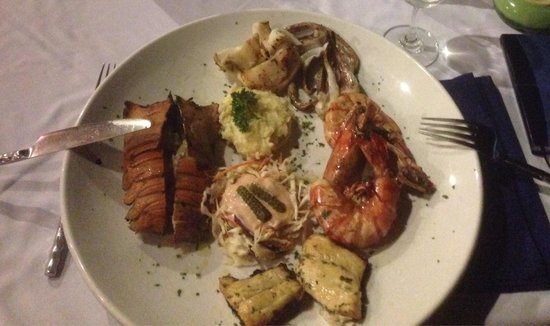 Marco Polo Resort & Restaurant : Grigliata di pesce