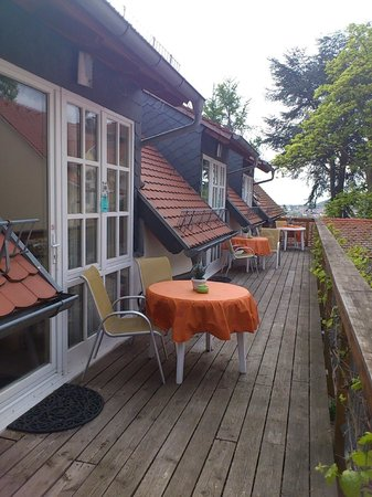 Halbersbacher. Hotel Annaberg: Terrace - common for three suits