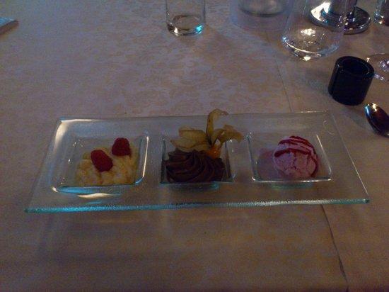 Halbersbacher. Hotel Annaberg: Dessert
