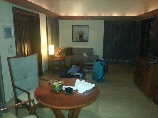 Shanti Maurice A Nira Resort: Luxury pool villa 205 lounge