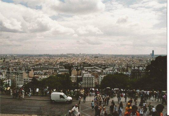 Basilique du Sacré-Cœur de Montmartre : Blick von Sacré Coeur