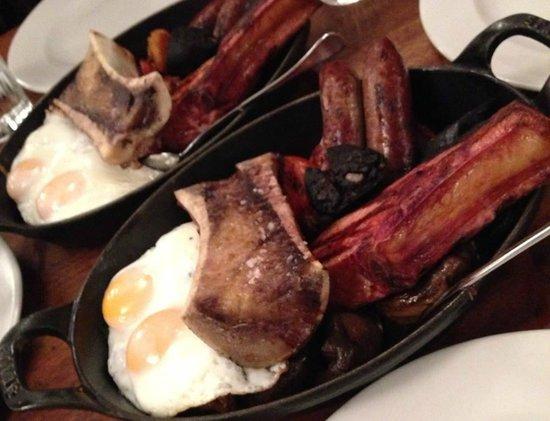 Hawksmoor Guildhall: English Breakfast