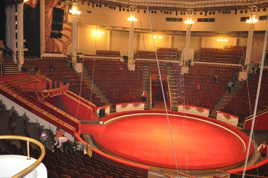 Nikulin Moscow Circus on Tsvetnoi Bulvar: Circus Arena