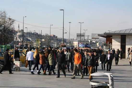 Historic Areas of Istanbul: Набережная