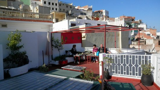 Dar Zerhoune : colazione in terrazza