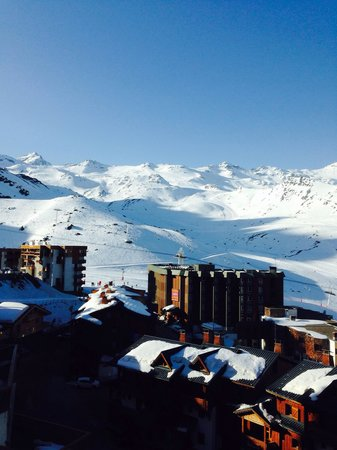 Hotel 3 Vallees: View from room 12!