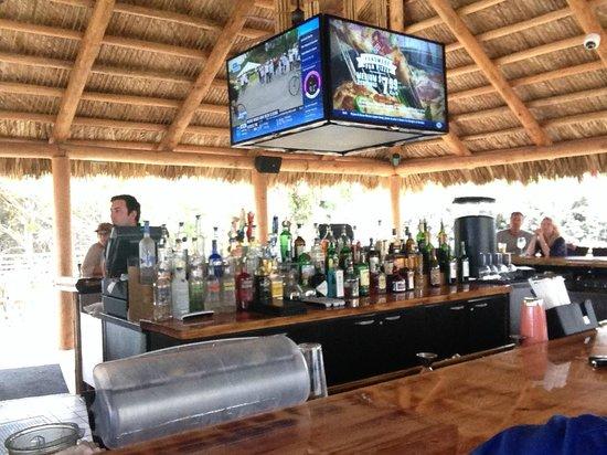 Hilton Cocoa Beach Oceanfront: Inside Tiki bar
