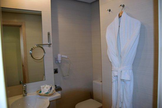 Hotel Mozart: unser Badezimmer