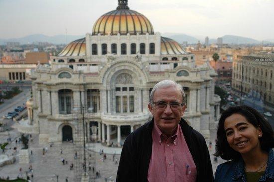 Palacio de Bellas Artes: Desde la cafeteria