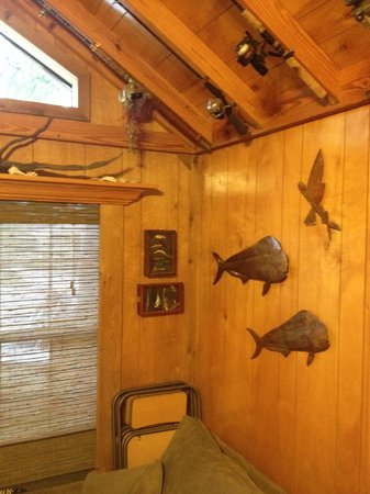 Glades Haven Cozy Cabins: 'living room'