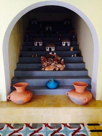 Hotel Hacienda Uxmal Plantation & Museum : Deko Hacienda Uxmal