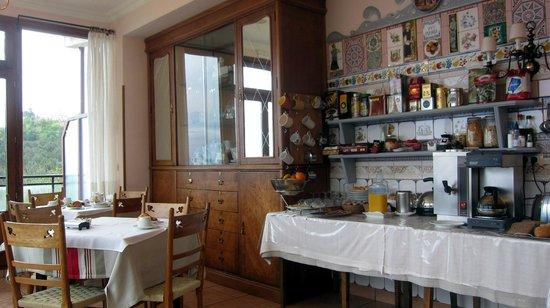 Hotel Leku-Eder: Frühstücksraum