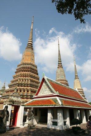 Temple du Bouddha Couché (Wat Pho) : Temple du Bouddha Couché