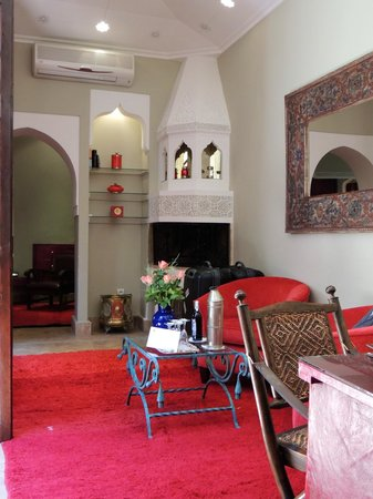 La Maison Arabe: zit gedeelte suite