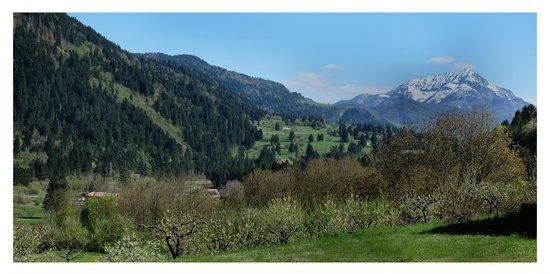 Albergo Diffuso Borgo Soandri: Panorama attorno a Sutrio