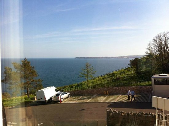 The Headland Hotel : the amazing view from room 174