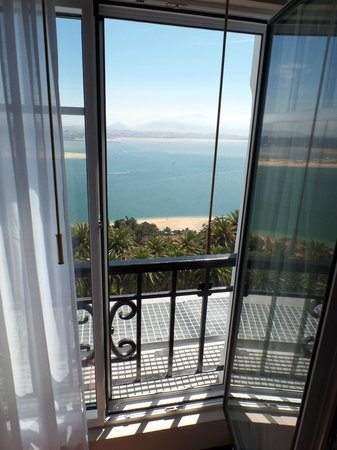 Eurostars Hotel Real: Vista desde la habitacion