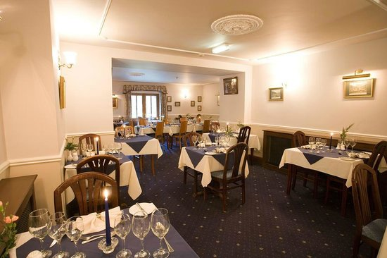 New Dungeon Ghyll Hotel: Dining room