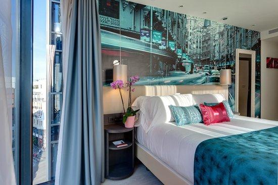 Hotel Indigo Madrid - Gran Vía: Habitación