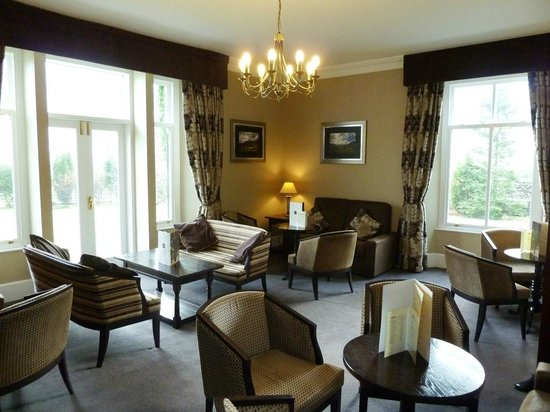 New Dungeon Ghyll Hotel: Lounge area