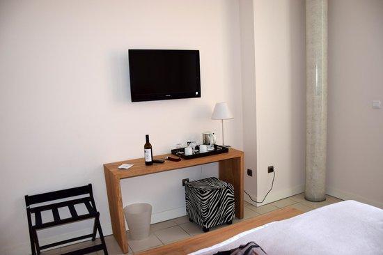 Hotel l'Armateur: unser Zimmer