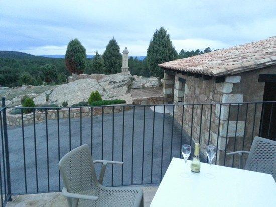 Hotel Restaurante Masia la Torre : vista desde la terraza