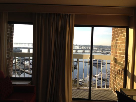 """DoubleTree by Hilton Hotel New Bern Riverfront: Our """"breathtaking view"""""""