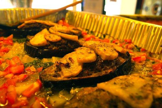 Pronto Italian Street Food: Stuffed Eggplant