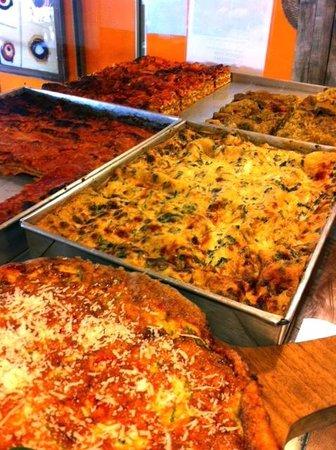 Pronto Italian Street Food: Lasagnas- Mushroom/Spinach/Truffle, Meat, Pesto & Eggplant Parm