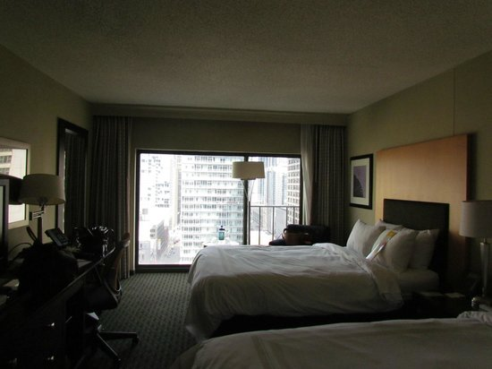 Chicago Marriott Downtown Magnificent Mile: Standard room