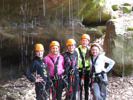 Soaring Cliffs Zip Line Course: Girl Power!
