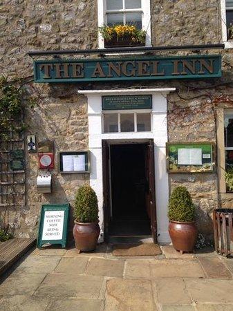 The Angel Inn Restaurant: the  door way