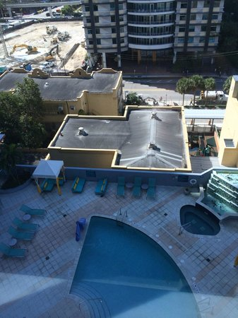 Hampton Inn & Suites by Hilton - Miami Brickell Downtown: The View from the Room
