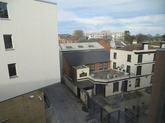 Travelodge Gloucester: View from our room