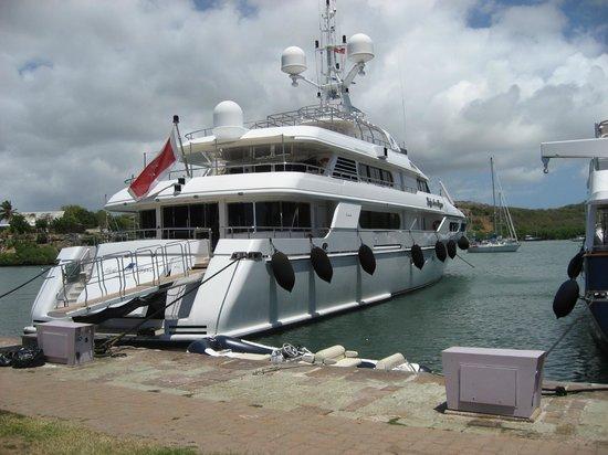 Nelson's Dockyard : Yours for £xx Million!