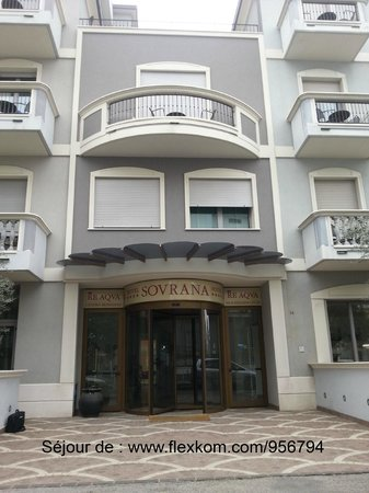 Hotel Sovrana: Séjour au Sovrana lors du congrès FlexKom