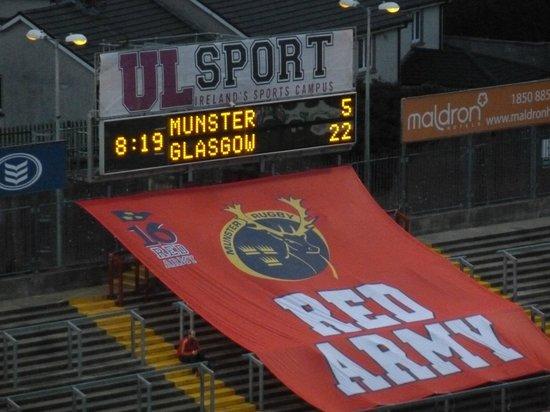 Thomond Park Stadium: The Might Munster go down to Glasgow