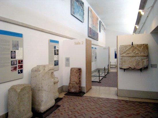 Grotte di Catullo : Il museo archeologico