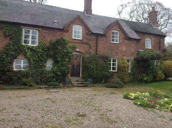 Osmaston, UK: The farmhouse