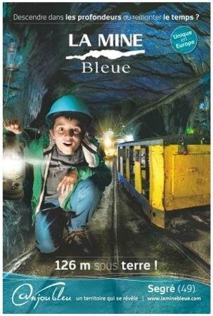 La Mine Bleue: ©LaMinebleue-Affiche 2014