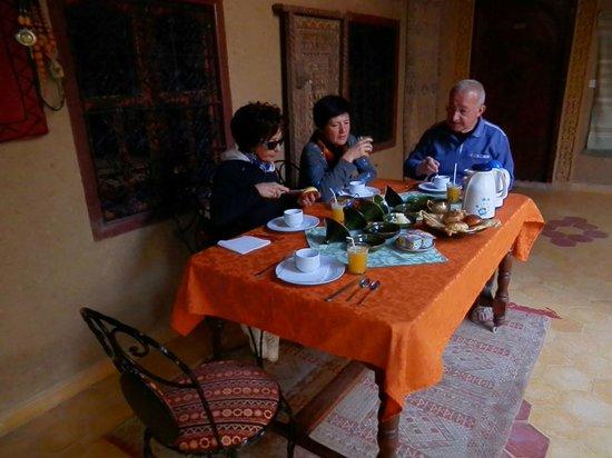 Guest House Merzouga: prima colazione