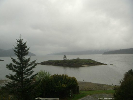 Outlook Inn on Orcas Island: View from deck