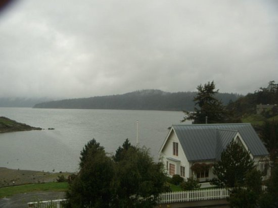 Outlook Inn on Orcas Island: View from our window