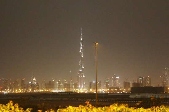 The Meydan Hotel: View from hotel premises