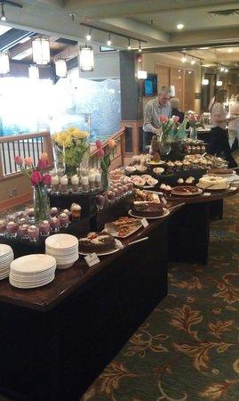 Chinook Family Restaurant : Easter brunch dessert buffet 2014
